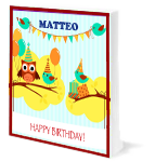 Happy Birthday Matteo